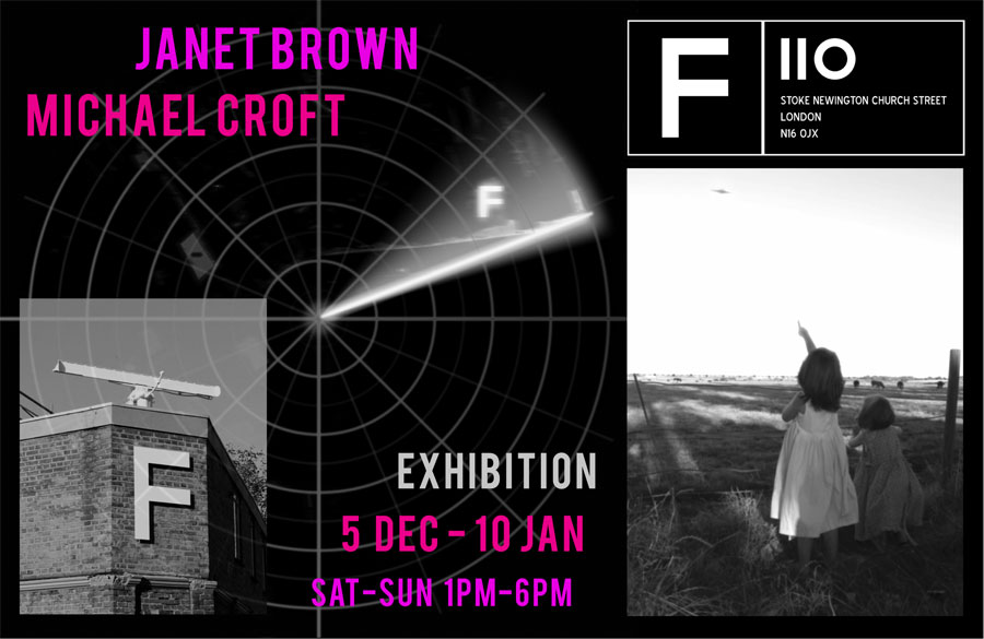 Michael Croft, Janet Brown. Exhibition at Building F